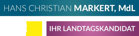 Hans Christian Markert MdL